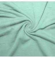 French Terry Polyester Rayon Spandex Seafoam Pale