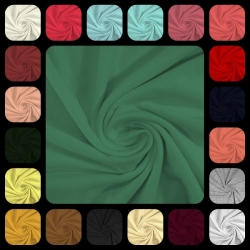 Rayon Modal Spandex 220 GSM (-+)-Swatch Card