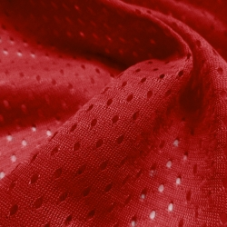 Athletic Football Mesh Red