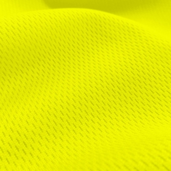 Athletic Dimple Mesh Yellow