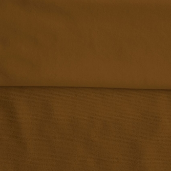 Fleece Polyester Cotton-Khaki