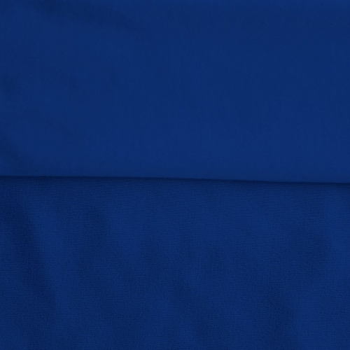 Fleece Polyester Cotton-Royal