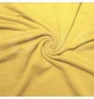 French Terry Polyester Rayon Spandex Banana