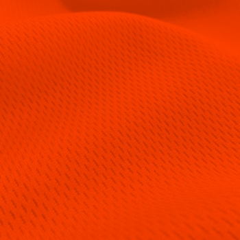 Athletic Dimple Mesh Neon Orange