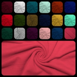 French Terry Polyester Rayon Spandex-Swatch Card