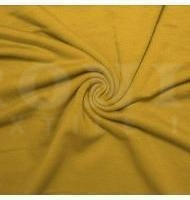French Terry Polyester Rayon Spandex Mustard