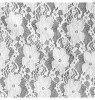 Small Flower Lace-910-500-White