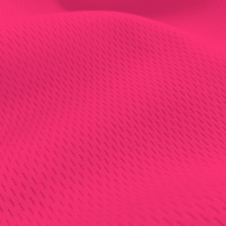 Athletic Dimple Mesh Neon Pink