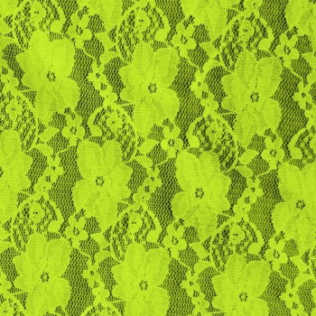 Small Flower Lace-910-500-Neon Green