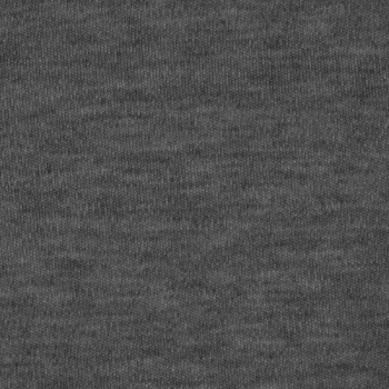 Fleece Polyester Cotton-Charcoal