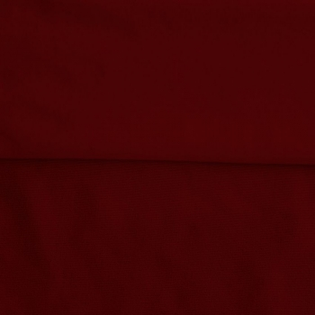 Fleece Polyester Cotton-Burgundy