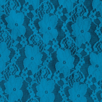 Small Flower Lace-910-500-Turquoise