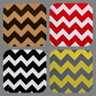Outdoor Fabric Chevron Print