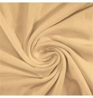 Cotton Jersey Spandex Cream