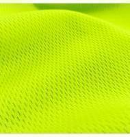 Athletic Dimple Mesh Neon Yellow