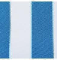Outdoor Fabric 2'' stripe- Aqua, White