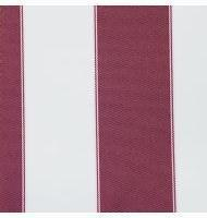 Outdoor Fabric 2'' stripe- Burgundy, Ivory