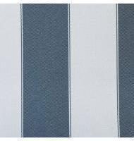 Outdoor Fabric 2'' stripe- Dark Gray, Light Gray