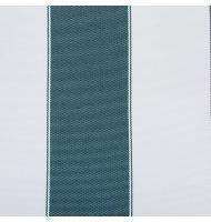 Outdoor Fabric 2'' stripe- Hunter Green, Ivory
