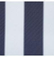 Outdoor Fabric 2'' stripe- Navy, White